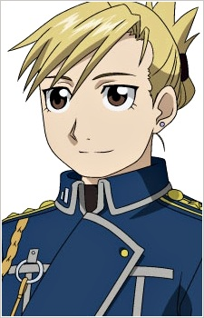 Riza Hawkeye from Full Metal Alchemist