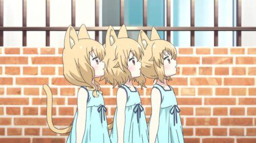The Mitama triplets from Centaur no Nayami (Centaur's Worries)