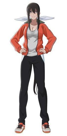 """Sayaka Ohara trong vai Uraka Hanesaki, mẹ của Ayano, và vô địch 10 lần trong giải vô địch cầu lông quốc gia Nhật Bản. Cô đã đào tạo Ayano trong cầu lông kể từ khi cô được 10 tuổi, và cũng đã đào tạo cầu thủ nước ngoài. Tên thời con gái của cô là """"Shindō""""."""