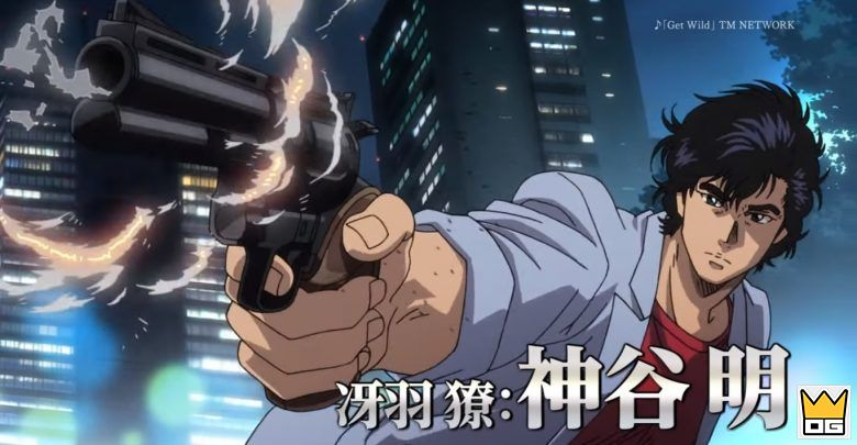 Anime Movie City Hunter tung Visual đầu tiên