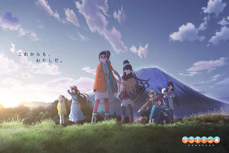 Anime Laid-Back Camp hé lộ preview mới về Spin-off