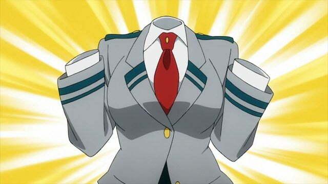 Toru chỉ được nhìn thấy khi cô mặc quần áo