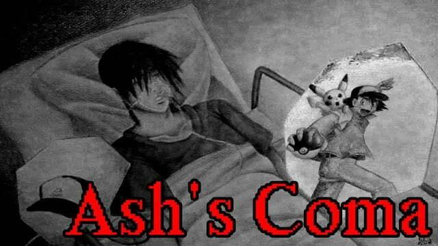 Giả thuyết nổi tiếng Ash đang hôn mê