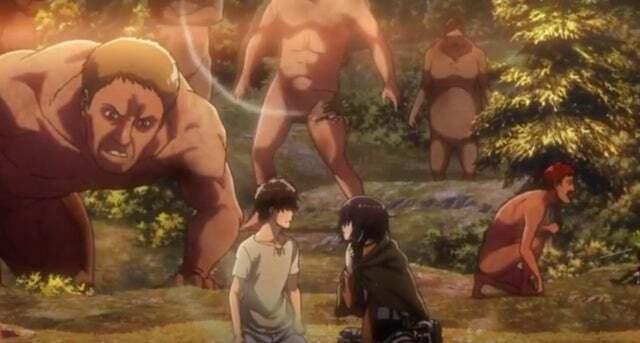 """Eren """"từ chối"""" Mikasa"""