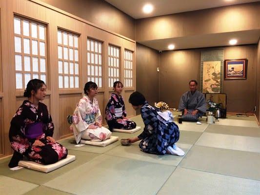 Không gian truyền đạt văn hóa trà đạo của Nhật