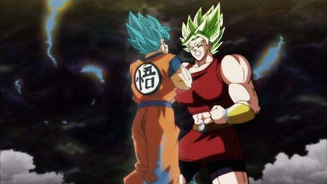 Kale có thể chiến đấu với Goku Super Saiyan Blue
