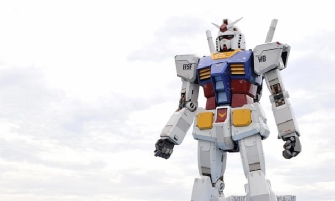 Nhật Bản thử nghiệm robot Gundam cao 18 m và nặng 24 tấn