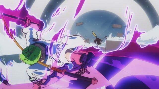 Khả năng kiếm thuật của Zoro rất tốt
