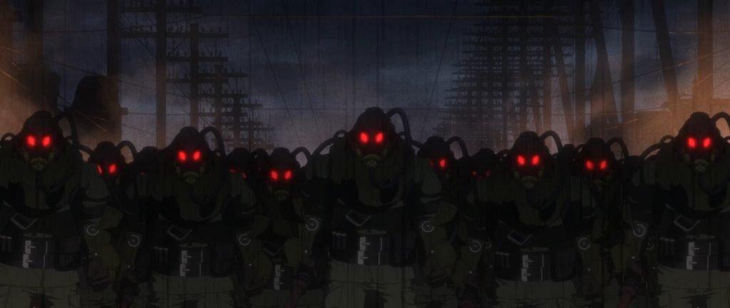 Mars Red tập 5: Đơn vị hành quyết ma cà rồng